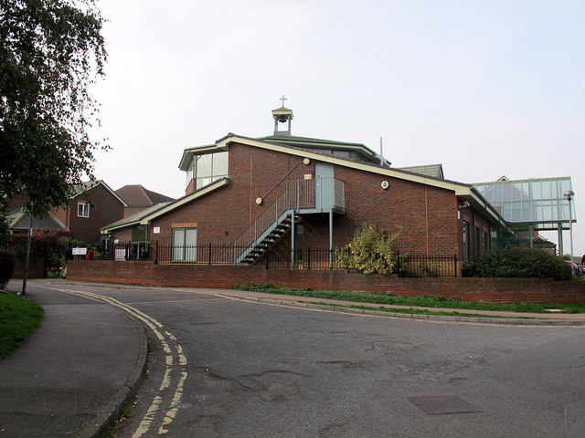 St Edmund's church / Living Well Centre, Temple Hill
