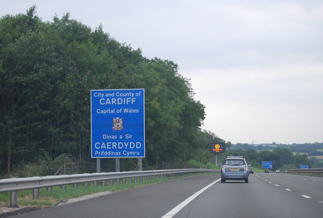 Welcome to Cardiff, M4