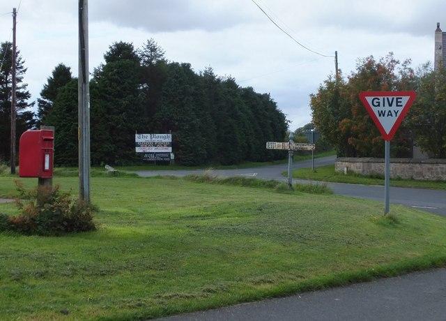 Signs of West Allerdean