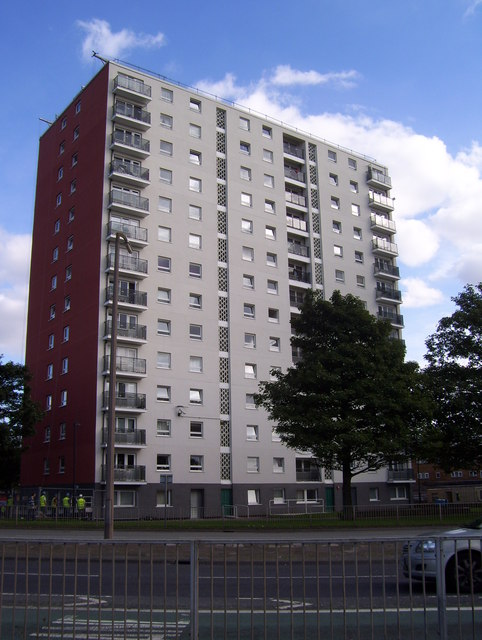Tower block in Doncaster