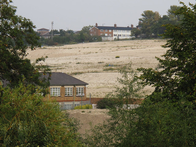 Site of former GSK factory