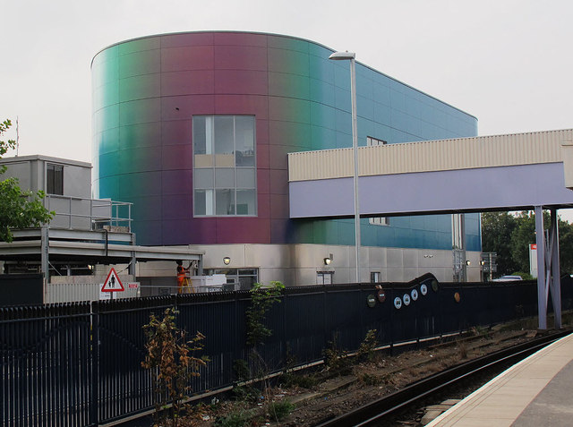 Dartford station, new entrance building