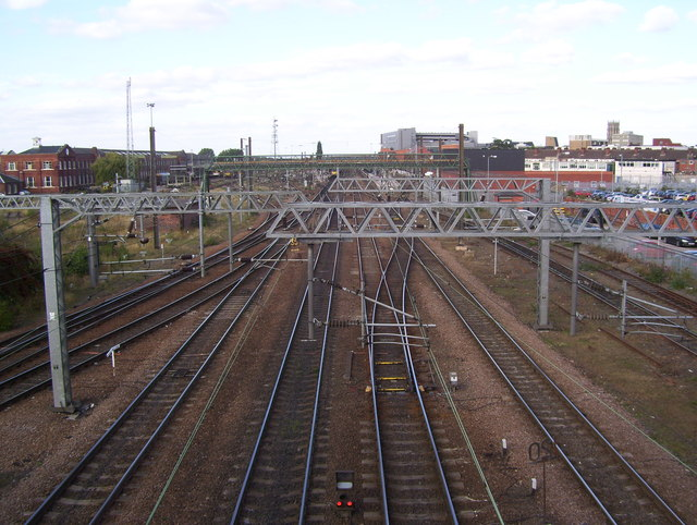 Doncaster Station approach