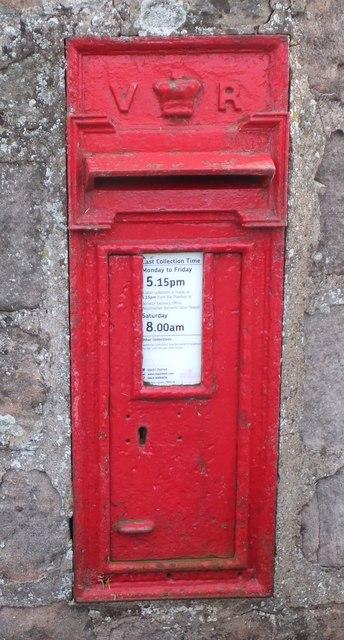 Victorian wall box, Thornton