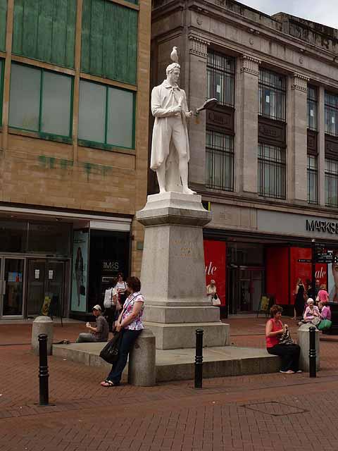 Statue of James Steel, English Street