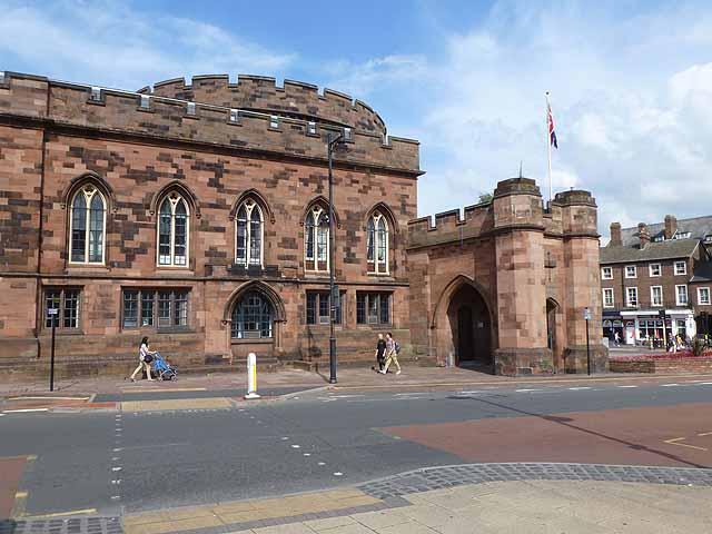 East Tower, Carlisle Citadel