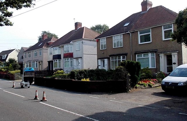 Cwmbach Road houses, Swansea