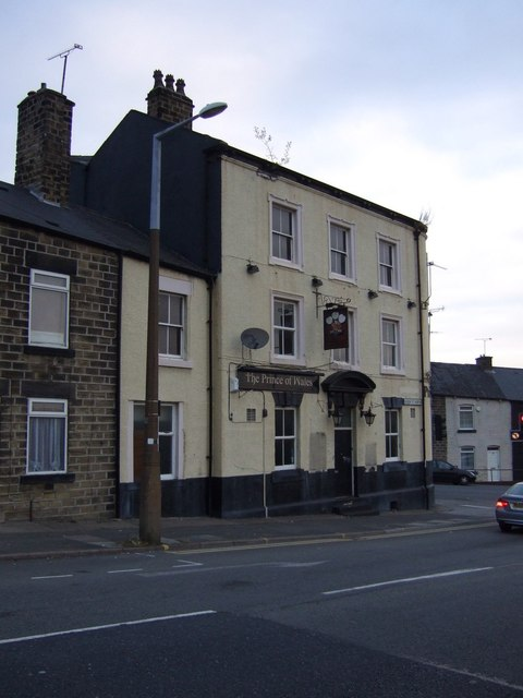 The Prince of Wales pub, Barnsley