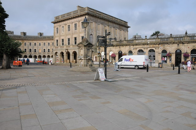 Buxton Baths and Crescent