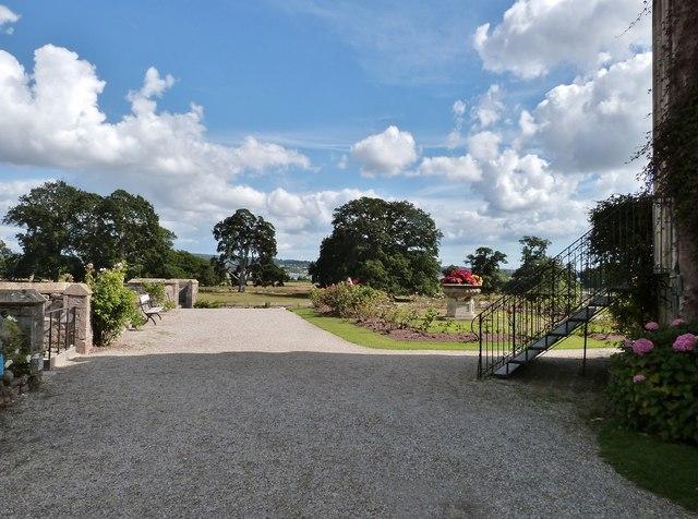 Formal Garden, Powderham Castle