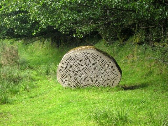 IIMW sculpture near Badlake Moor Cross