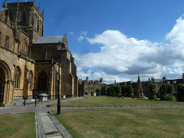Path to Sherborne Abbey