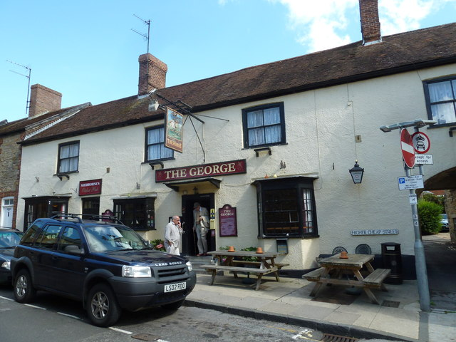 The George, Higher Cheap Street