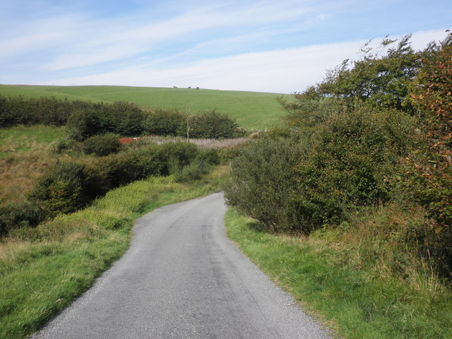 Descending from Black Hill