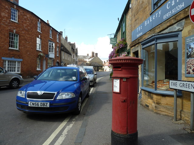 Postbox in The Green