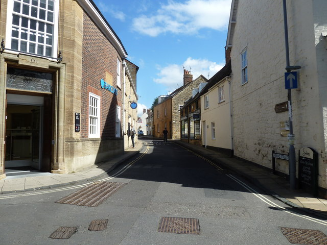 Looking from Cheap Street into Hound Street