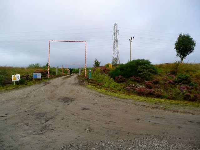 Timber Extraction Road Being Used by SSE