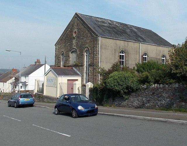 Zion Welsh Baptist Chapel, Waunarlwydd