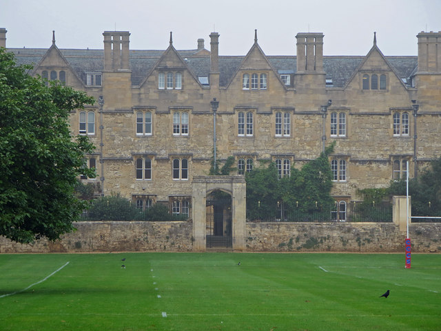 South wing of Merton College