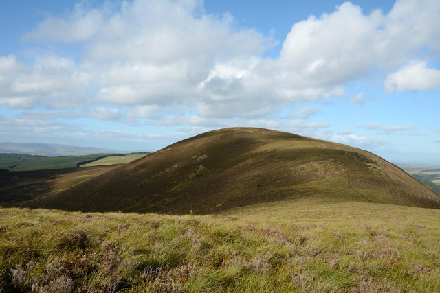 Ridge rising to Foel Goch