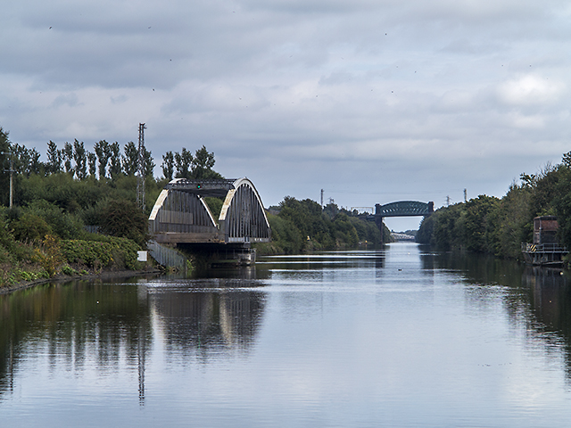 Manchester Ship Canal near Moore