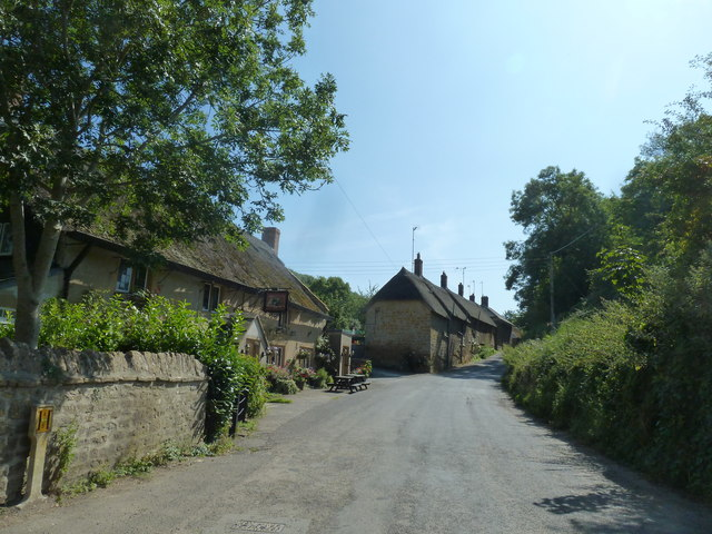 Rush hour in Symondsbury