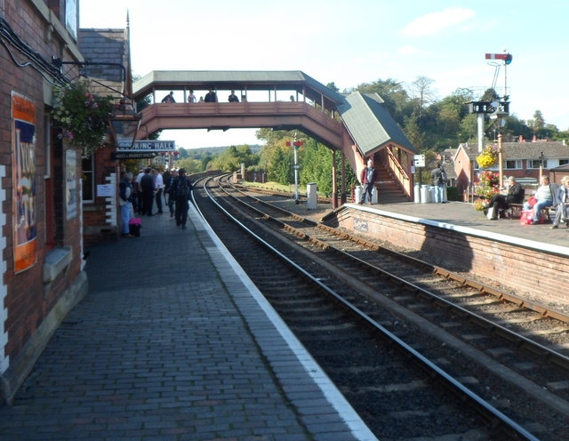 Bewdley railway station footbridge