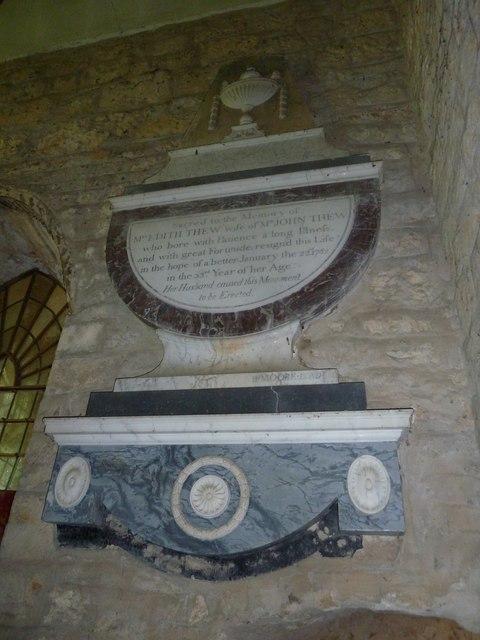 St John the Baptist, Symondsbury: memorial (h)