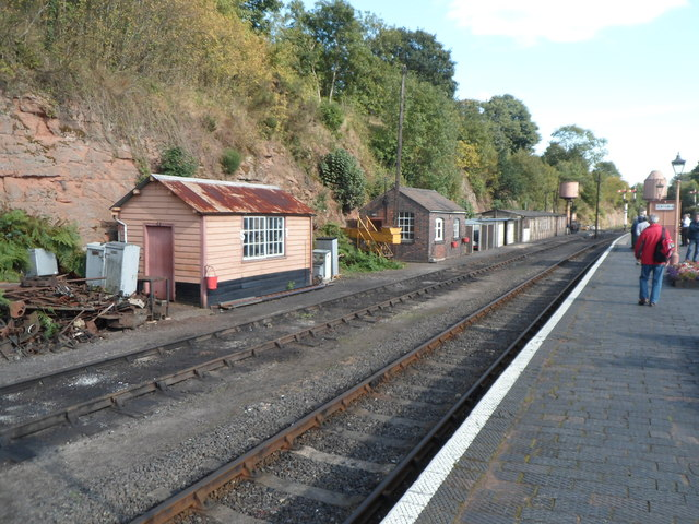 Lineside buildings at Bewdley railway station