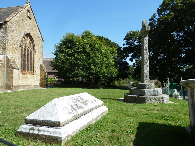 St John the Baptist, Symondsbury: churchyard (D)