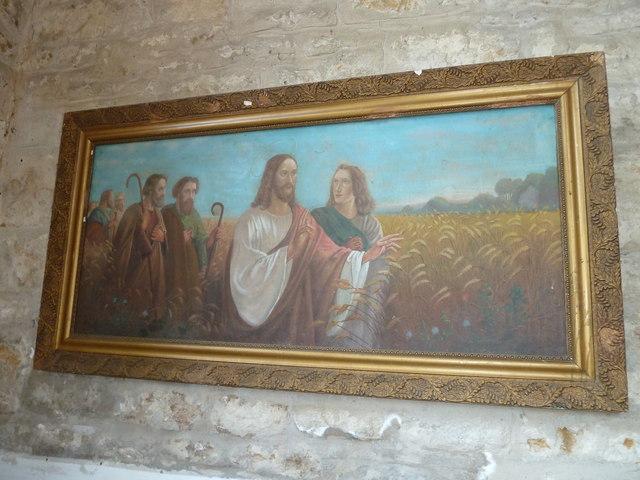 St John the Baptist, Symondsbury: artwork