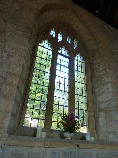 Inside St John the Baptist, Symondsbury (I)