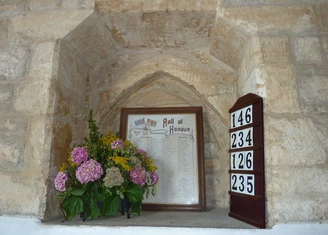 Inside St John the Baptist, Symondsbury (II)