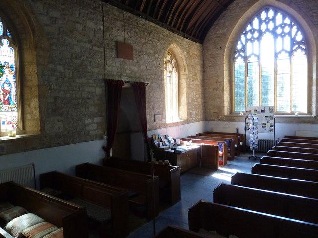 Inside St John the Baptist, Symondsbury (III)