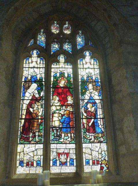 St John the Baptist, Symondsbury: stained glass window (2)