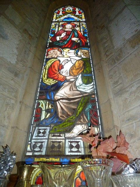 St John the Baptist, Symondsbury: stained glass window (4)