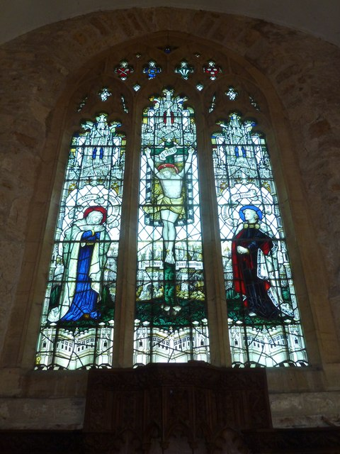 St John the Baptist, Symondsbury: stained glass window (6)