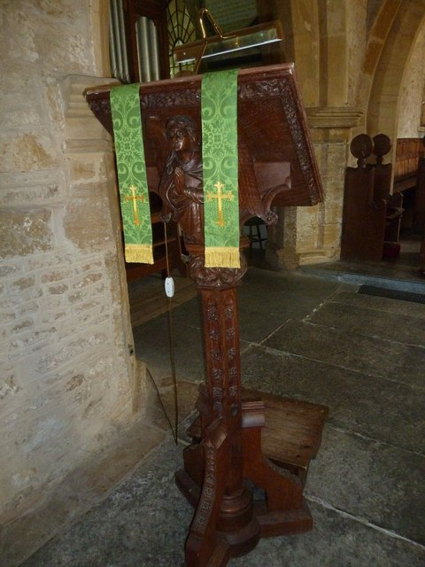 St John the Baptist, Symondsbury: lectern