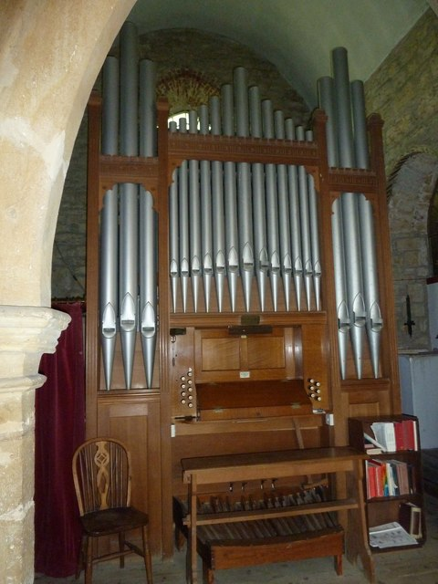 St John the Baptist, Symondsbury: organ