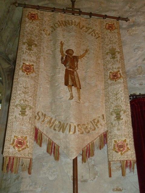 St John the Baptist, Symondsbury: banner
