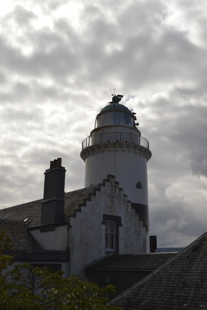 Cloch Lighthouse and Fog Horn, near Gourock