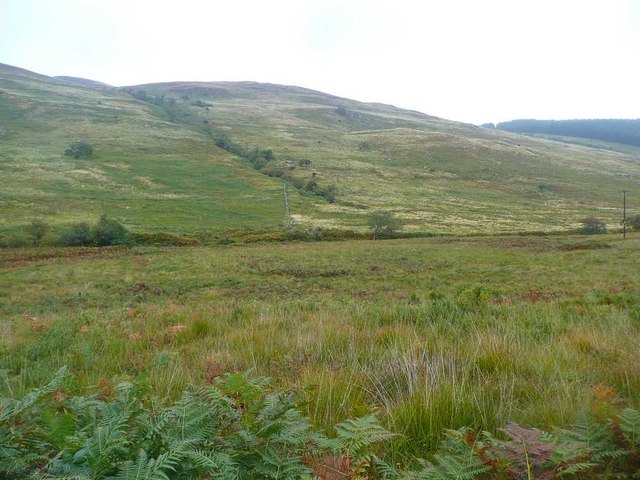 Looking over the moor to Torr Reamhar