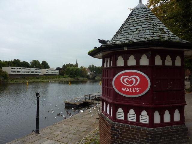 Wall's Ice Cream Kiosk, Chester