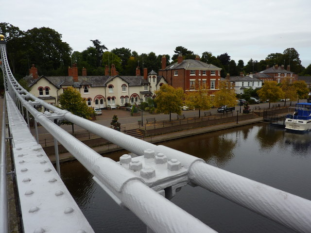 A view from Queen's Park Bridge, Chester