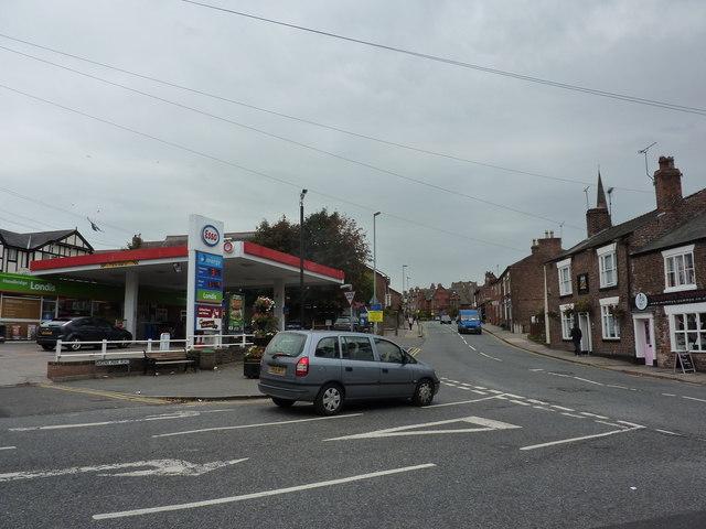 Junction of Handbridge and Queen's Park Road, Chester