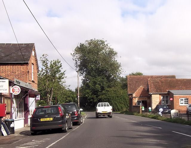 Warborough village centre