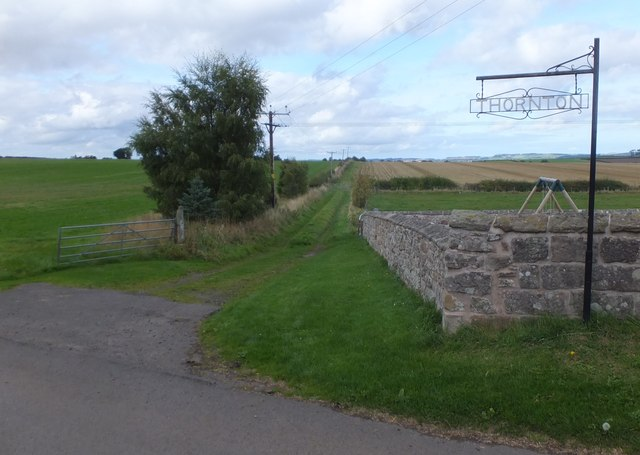 Farm lane, Thorton