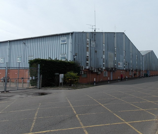 Industrial units at Blackbushe airport