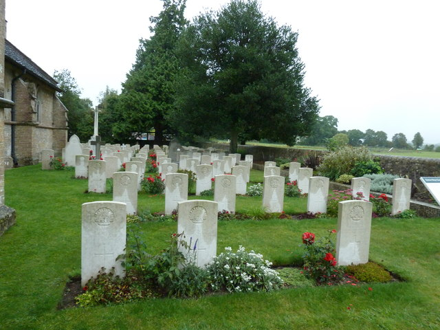 St John the Evangelist, Sutton Veny: military graves (3)