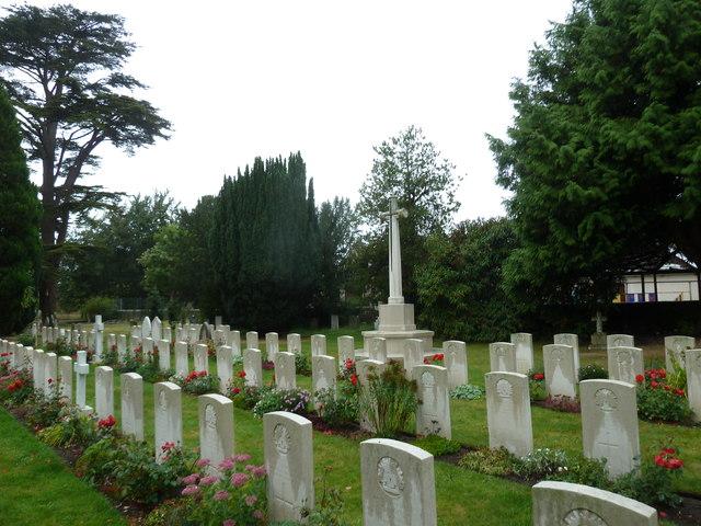 St John the Evangelist, Sutton Veny: military graves (4)
